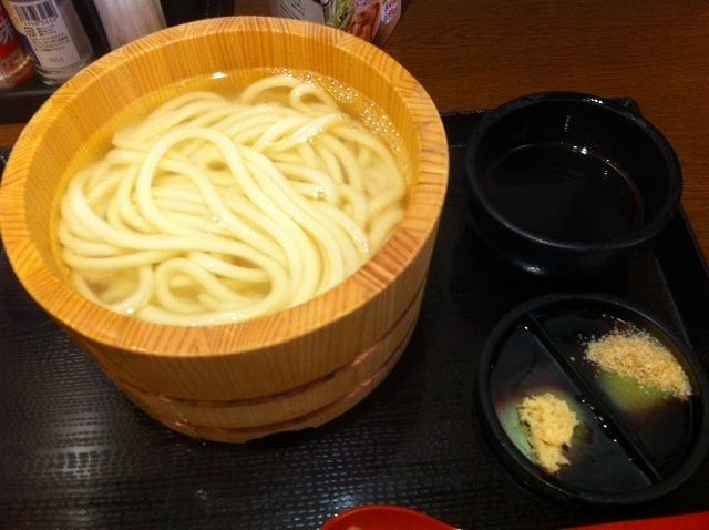 丸亀製麺 釜揚げうどん を食べてみました。