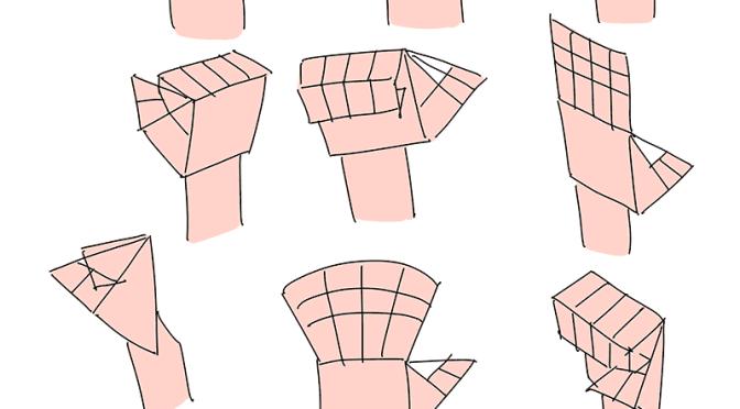 誰でも描ける『手の描き方』を目指して