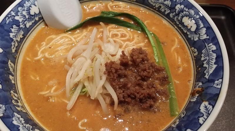 山岸一雄製麺所「山岸の担々麺」を食べてみました。