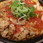 吉野家 トマト牛鍋膳を食べてみました。
