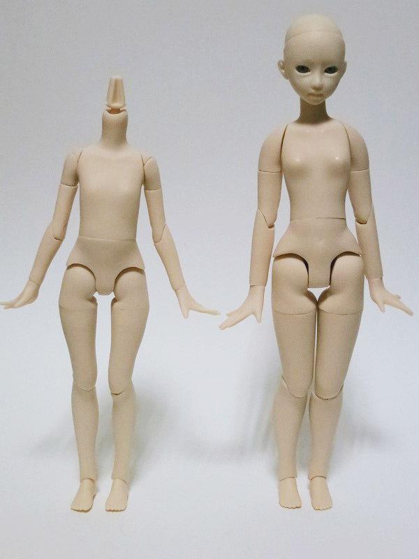 アゾン素体 ピュアニーモフレクション フル可動 XS/女の子 白肌 レビュー