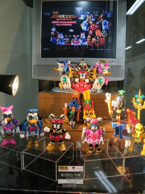 超合金 超合体キングロボ ミッキー&フレンズ をAKIBAショールームで発見!