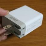 Anker 20W 2ポート USB急速充電器 71AN7109-W2A レビュー