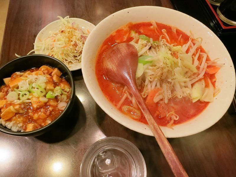 炎麺 エンメン 秋葉原店でトマト麻辣麺を食べてみました