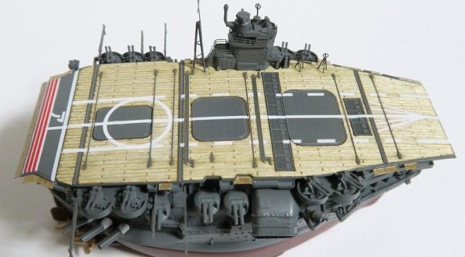 艦船模型を作ってみよう!(ちび丸艦隊 赤城 レビュー)