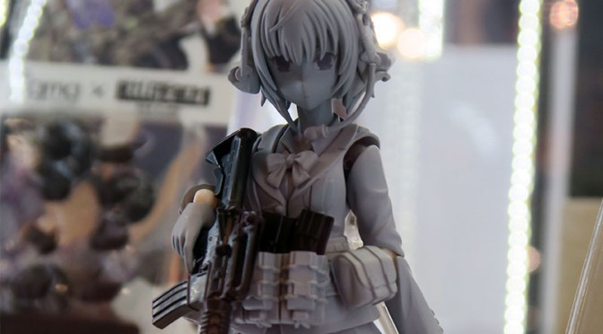 figma トミーテック リトルアーモリー 朝戸未世 模型ホビーショー2015