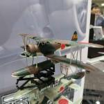 ハセガワ 1/48 中島 E8N1 九五式一号水上偵察機、1/32 三菱 A6M5C 零式艦上戦闘機 52型丙予告 模型ホビーショー2015