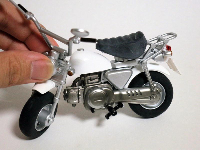 figma用モンキー ex:ride ride.006 ミニバイク ホワイト レビュー
