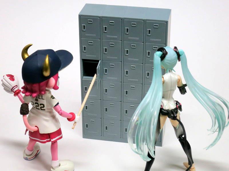 PINKTANK 1/12 figma用ミニチュア 下駄箱 レビュー