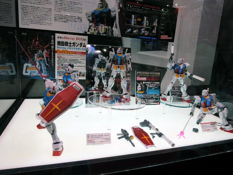マスターグレード ガンダム Ver3.0 東京おもちゃショー2013