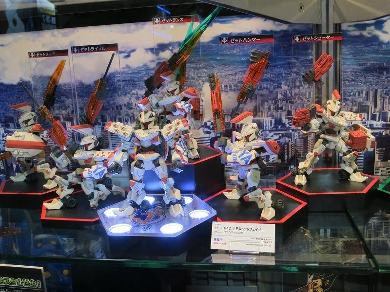 バンダイ ダンボール戦機ウォーズ LBX ドットセイバー 東京おもちゃショー2013