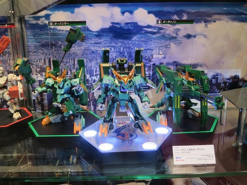 バンダイ ダンボール戦機ウォーズ LBX オーヴェイン 東京おもちゃショー2013