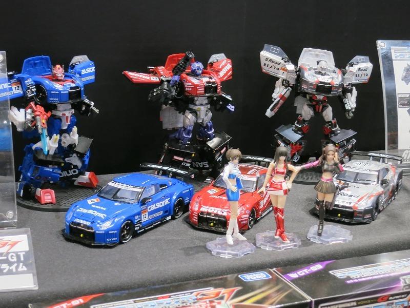 タカラトミー トランスフォーマー、プラレールアドバンス 東京おもちゃショー2013