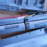 レッツノートCF-R8 バッテリー(CF-VZSU49)セル交換