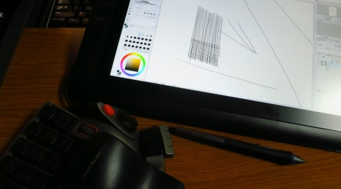 Cintiq 13HD DTK-1300/K0 を買いました。