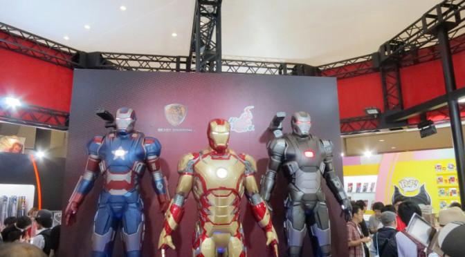 ホットトイズ アイアンマン3 マーク42他 東京おもちゃショー2014