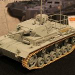 ドラゴン 1/35 WW.II ドイツ軍 3号指揮戦車H型(インテリア付き) DR6844 模型ホビーショー2016