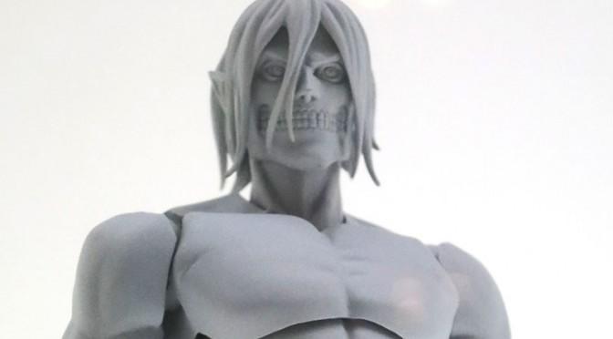 コトブキヤ プラモデル 巨人エレン 進撃の巨人 ワンフェス2014夏