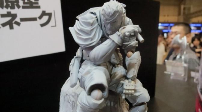 海洋堂 リボルミニ ヴェノム・スネーク サイボーグ忍者 メタルギア ワンフェス2014夏