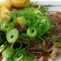 松屋 チキンガーリック定食を食べてみました。