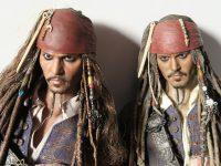 ホットトイズ ジャックスパロウ 最後の海賊 レビュー 生命の泉verとの比較