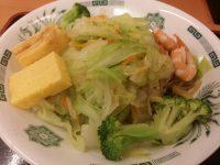 日高屋 ヘルシーオリーブ麺を食べてみました。